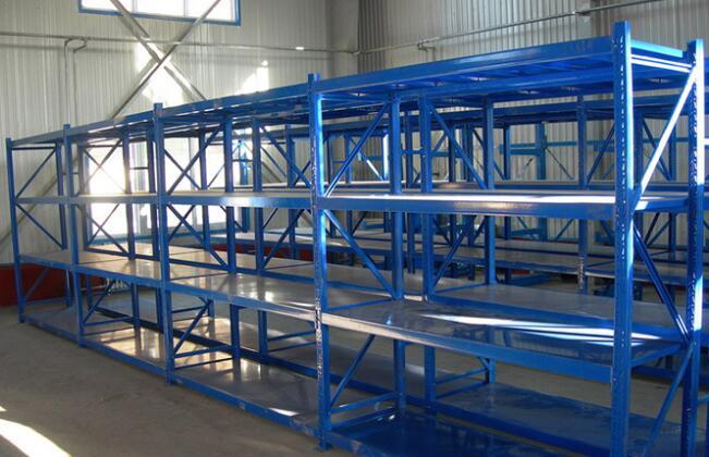 仓库中型层板物料架是什么款式的?